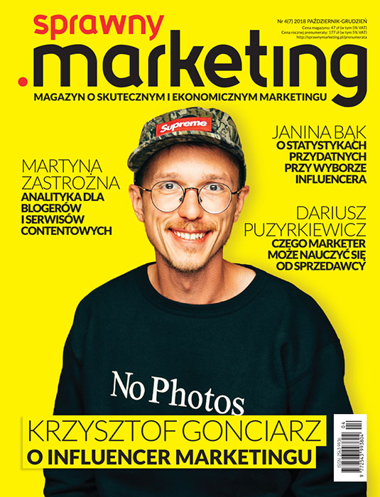 Okładka magaznu sprawny.marketing