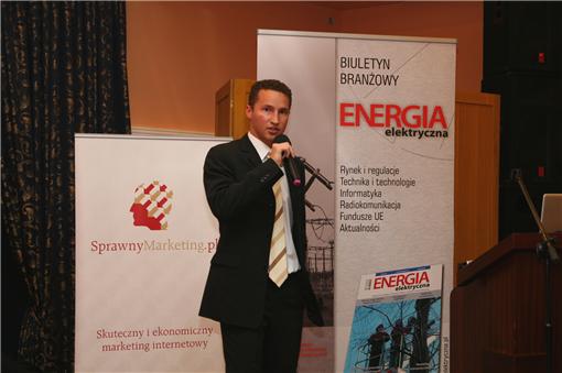 Cezary Lech prezentacja na konferencji energetycznej