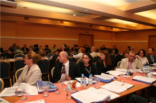 Widownia i sala konferencji energetycznej PTPiREE
