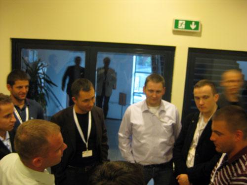 Guglarz Kaspar Szymanski na Google Day 2008