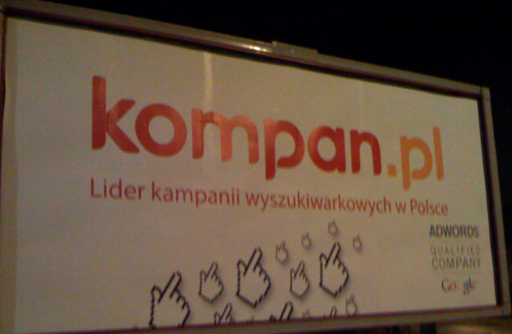 Kompan.pl Billboard Google Day