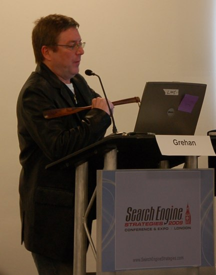 Search Engine Strategies 2009 - Londyn - Mike Grehan