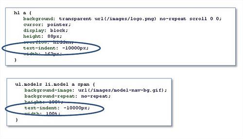 arkusz CSS odpowiedzialny za błąd