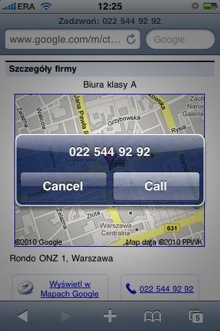 click-to-call: co się dzieje po kliknięciu numeru