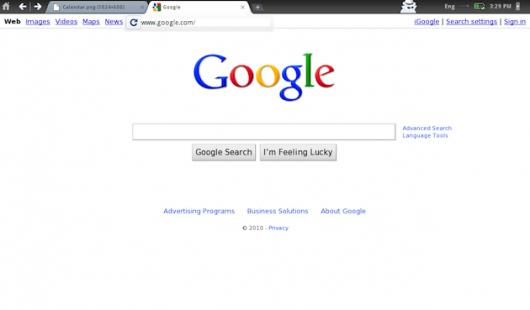 Chrome OS - przeglądarka