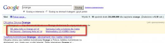 linki witryny w adwordsach