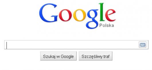 nowy logotyp Google