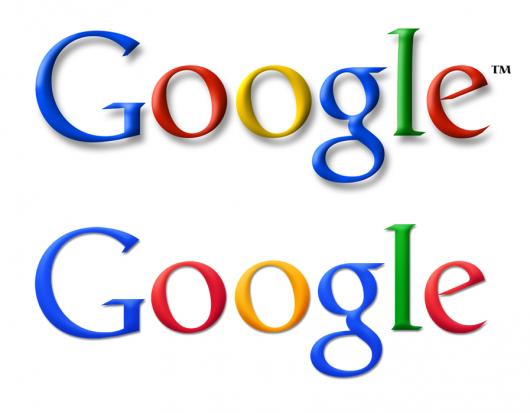 porównanie logotypów Google