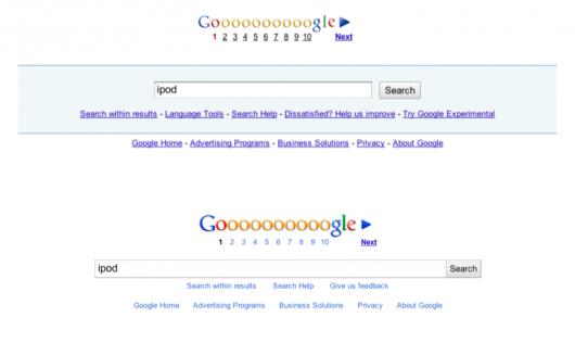 porównanie stopki Google