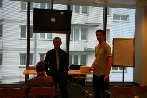 Paweł Sala podczas szkolenia z email marketingu