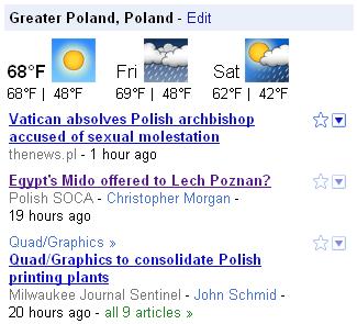 google news wiadomości lokalne