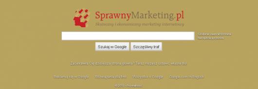 google czy sprawnymarketing