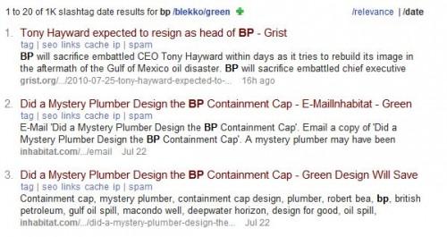 bp green date