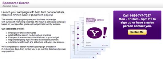 Yahoo asystuje przy kampaniach PPC