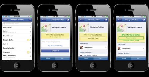 jak skorzystać ze zniżki - kolejne ekrany Facebook Deals