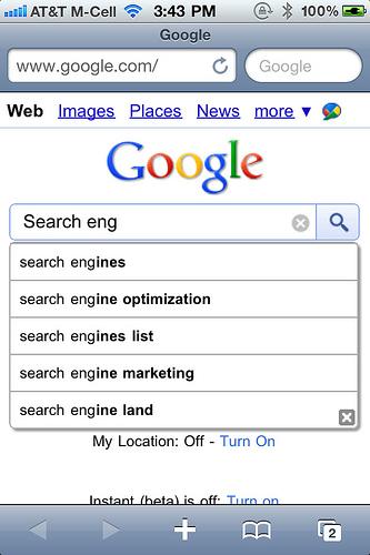 jak wygląda Instant na iOS - Safari