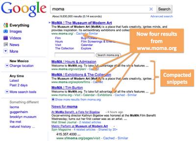 wyniki dla zapytania [moma] po zmianie: 4 linki do moma.org