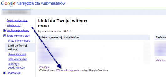 GWT link do analytics