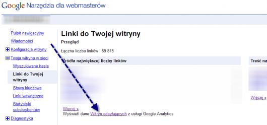 GWT link do analytics