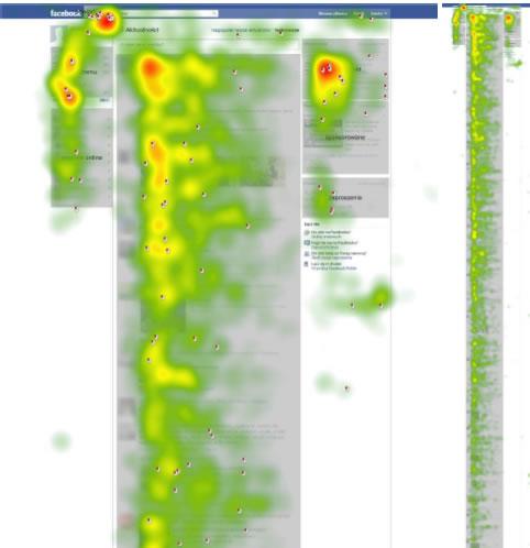 Facebook mapa cieplna