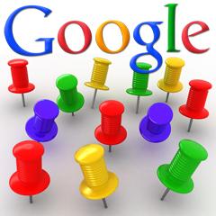 google-pushpins