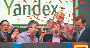 debiut Yandex Nasdaq