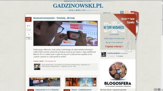 1 gadzinowski blog screen glowna strona