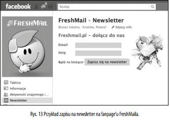 4 zapisy na newsletter