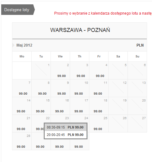 1 wawPO 99 pln