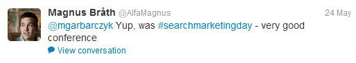 tweet magnus