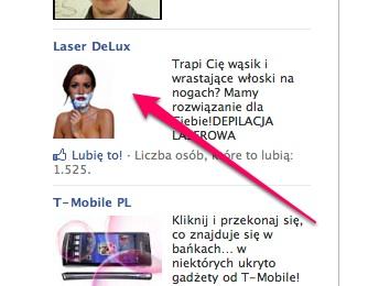 przykladowa reklama Facebook Ads