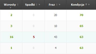 Kondycja strony wg SeoStation.pl