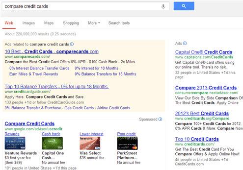 Google Karty Kredytowe