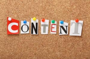 Content  Marketing ilustracja