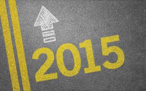 Straße mit 2015