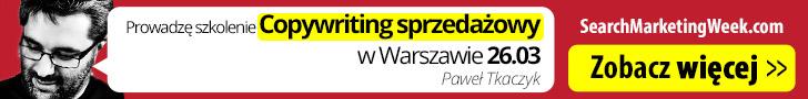 Szkolenie Copywriting Paweł Tkaczyk