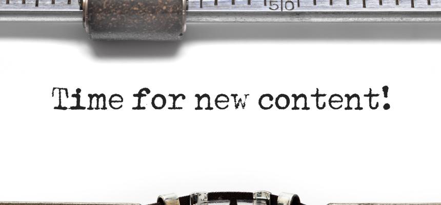 SEO New Content