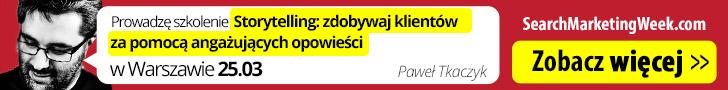 Szkolenie Storytelling Paweł Tkaczyk