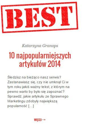 sprawnymarketing.pl najpopularniejsze artykuły