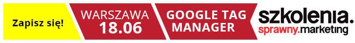 Szkolenie Google Tag Manaer Michał Bryś