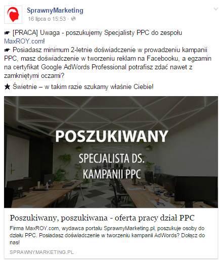 Oferta pracy MaxROY.com