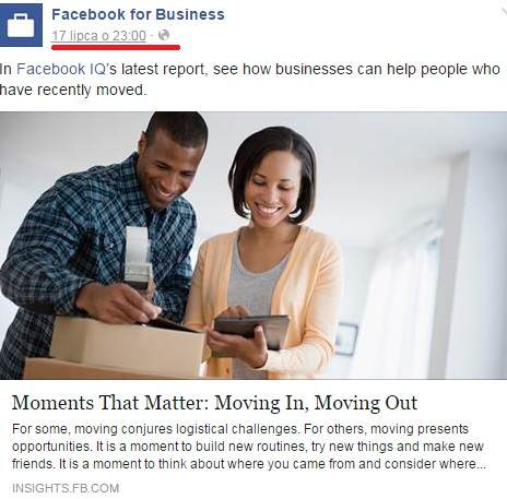 Jak stworzyć link do czyjegoś postu na Facebooku