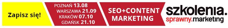 Szkolenie SEO + Content Marketing