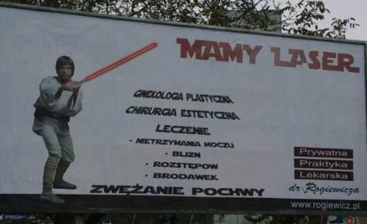 Mamy laser