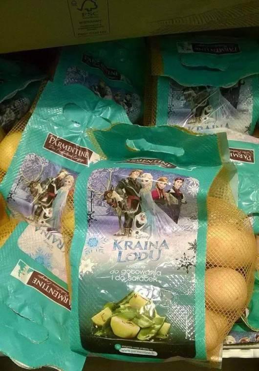 Ziemniaki Kraina Lodu