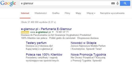E-Glamour Reklama