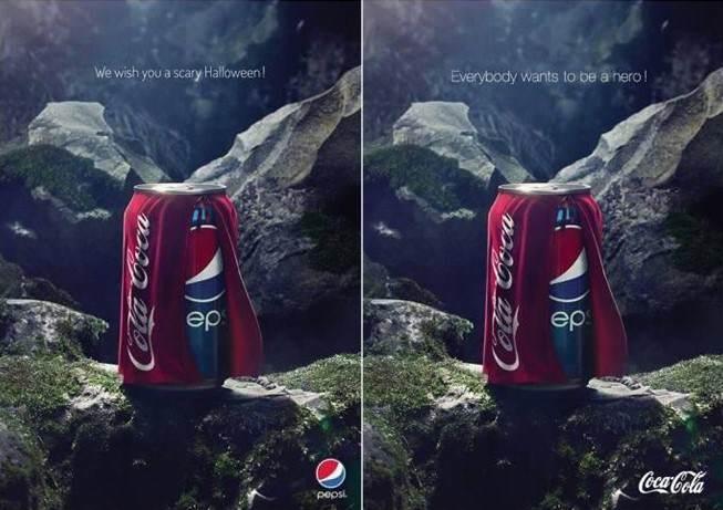 Pepsi contra coca cola