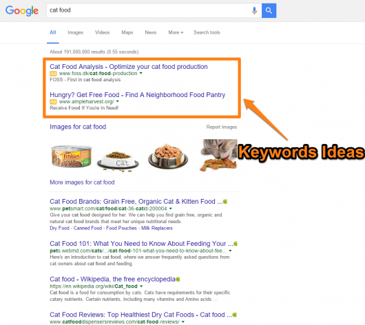 07_Cat-Food-USe-AdWords-Campaign-to-Identify-Keywords