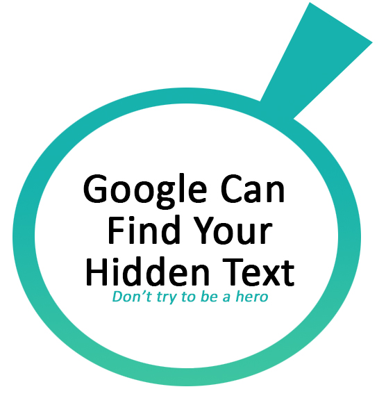 google-hidden-text-and-links-patent