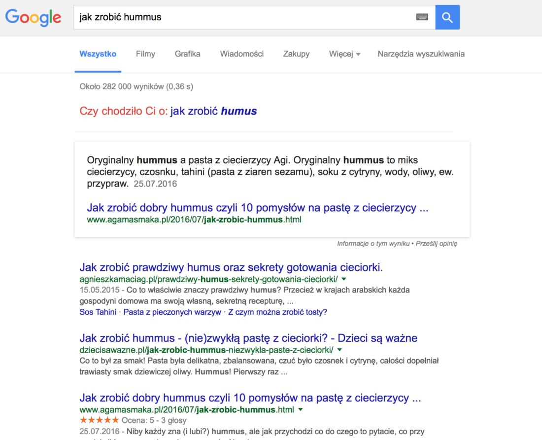 frazy w google